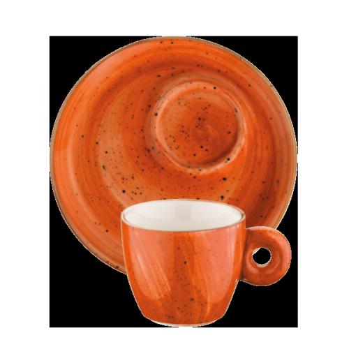 Terracota Banquet Espresso Cup&Saucer
