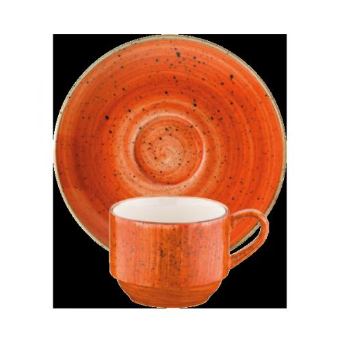 Terracota Gourmet Coffee Cup&Saucer